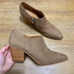 Franco Sarto Camella Tan Booties Ankle Boots 11
